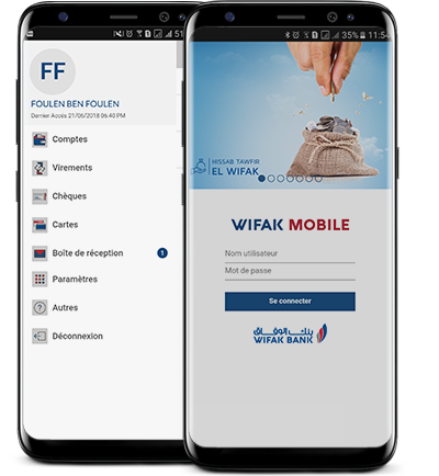 Application Wifak Bank